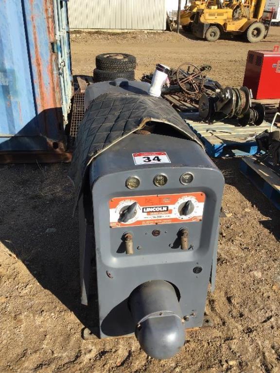 Lot 34 - Lincoln SA200 Gas Welder sn A-93376