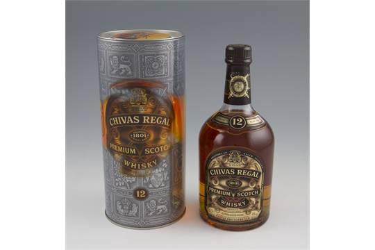 4466b45f6c2 Chivas Regal 12 year old Premium Scotch Whisky. Limited Edition 2000. 40%,  70cl.