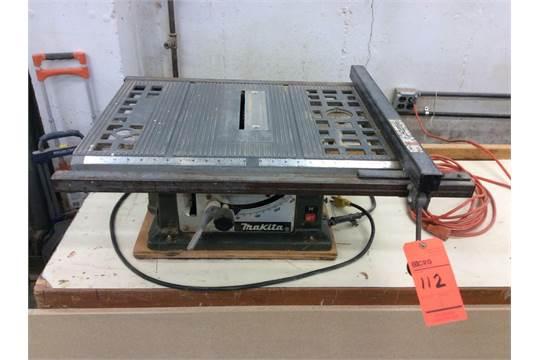 Makita 10 Portable Table Saw Mn 2708 With Tilt Arbor And
