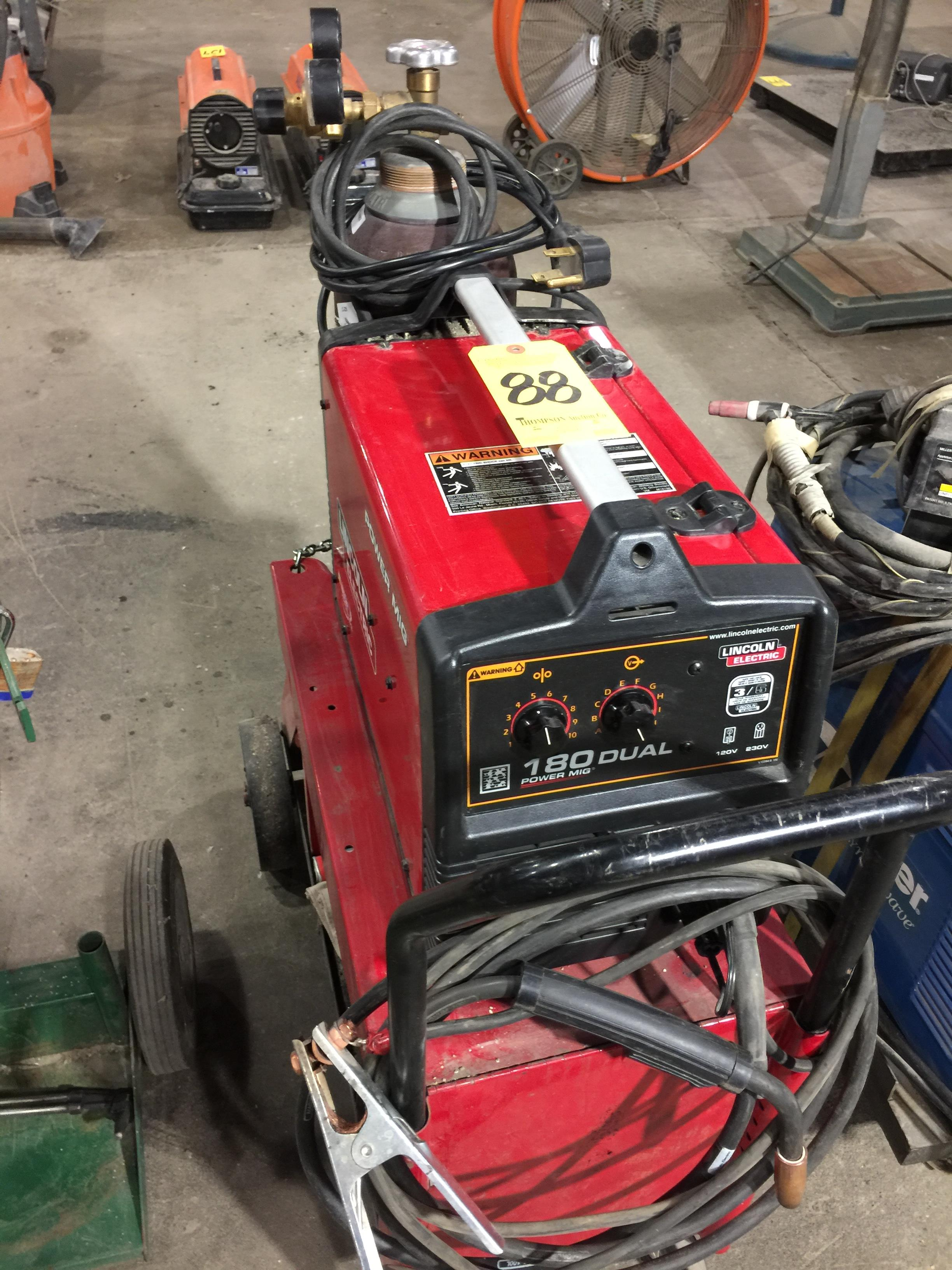 Lincoln Electric 180 Dual Power MIG/MIG Welder
