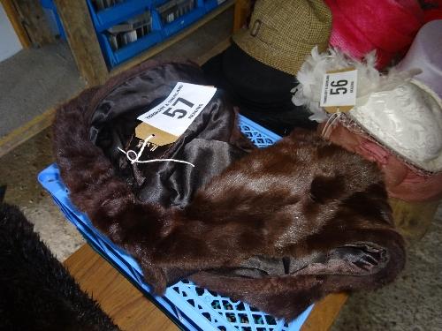 Harrods fur stole