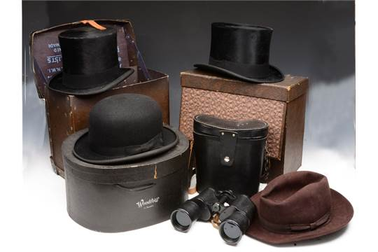 a9f21b6966b11 A WOODROW AMYLYTE BLACK   39 BURLINGTON  39  BOWLER HAT