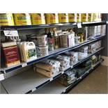 3 Shelves: Grout, Driveway Cleaner & Versabond