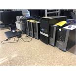 Computers: 9 PC's (no Hdd) 2 APC Dell 3550 Laptop