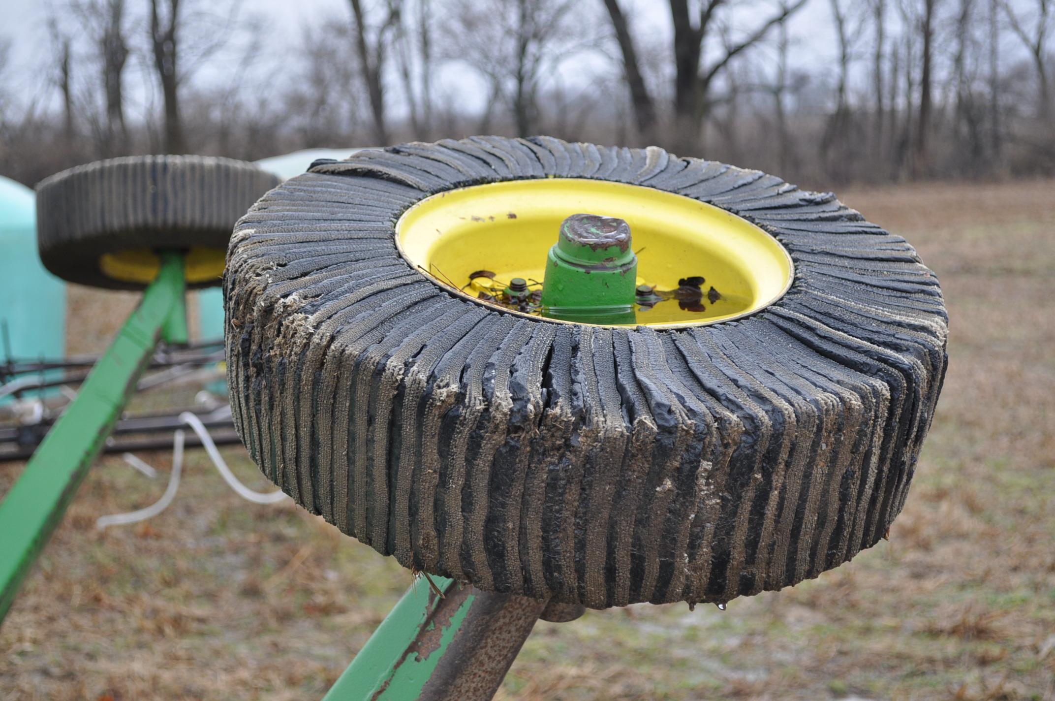 15' John Deere 1508 rotary mower, hyd fold, 1000 pto - Image 12 of 13