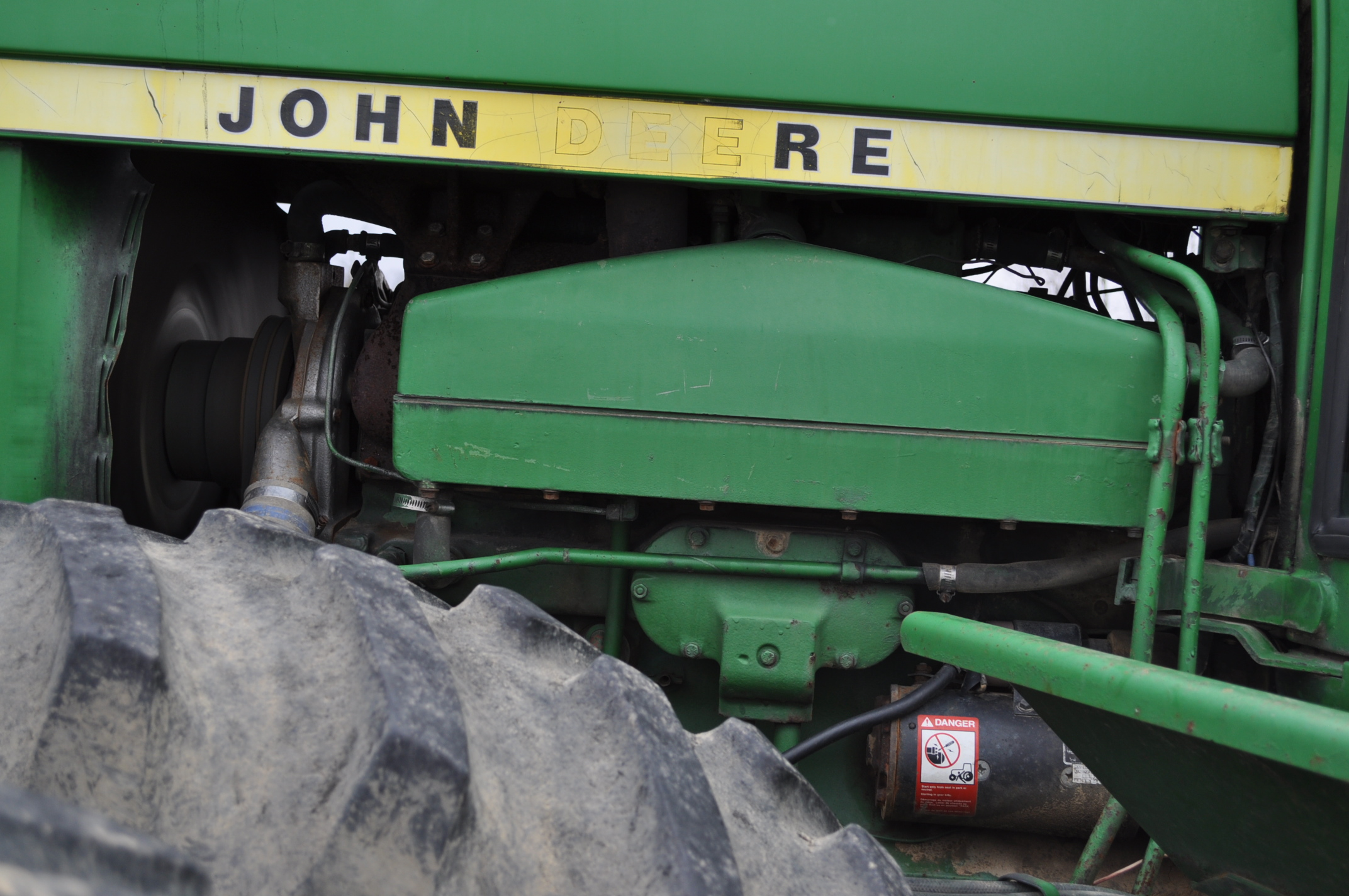 John Deere 8430 tractor, 4WD, diesel, 20.8-34 duals, CHA, Quad range, 3 hyd remotes, 1000 pto, 3 pt, - Image 10 of 19