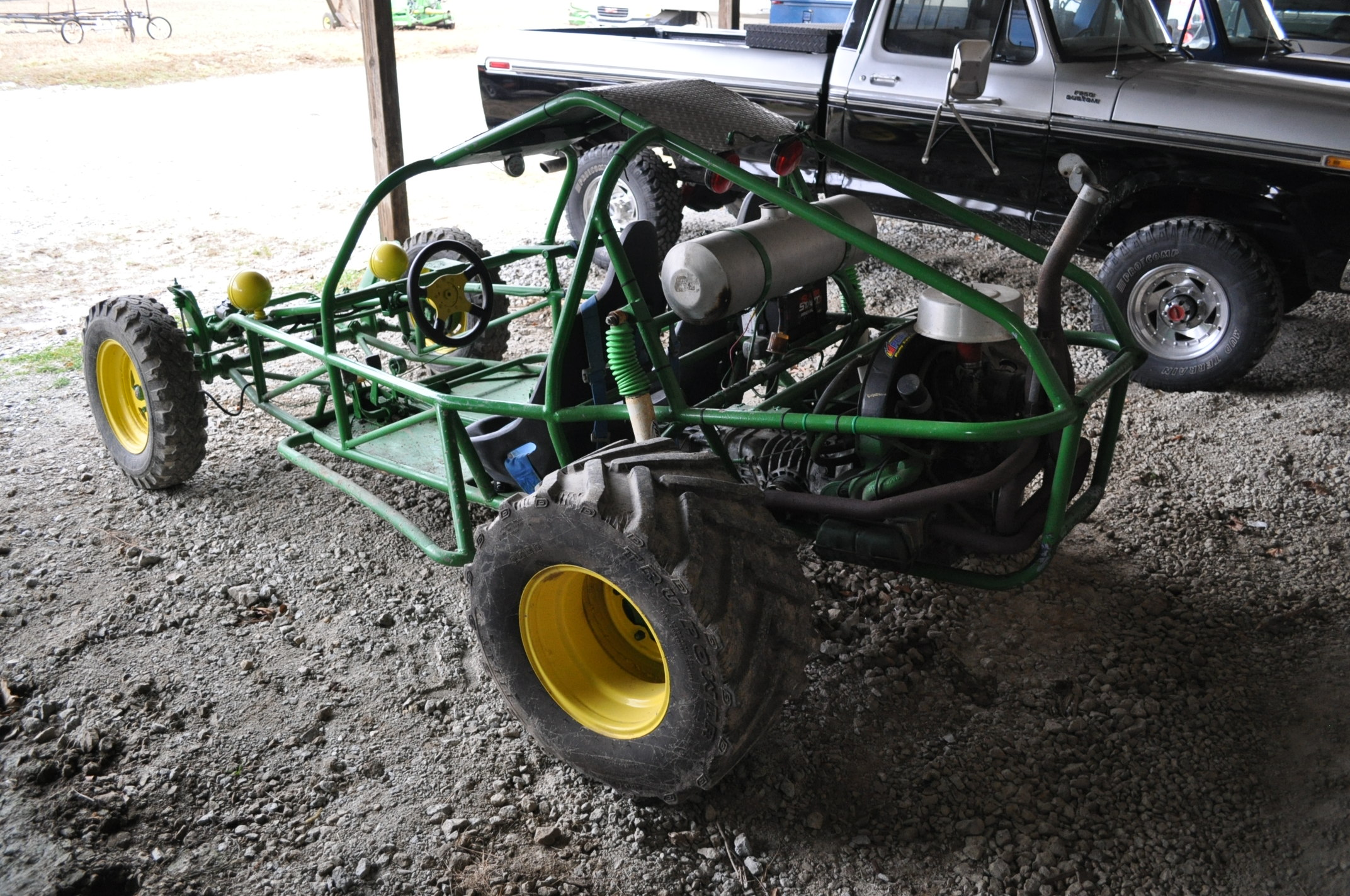 Dune buggy, VW air-cooled gas engine, 31 x 15.5-15 rear, 6.70-15LT front - Image 3 of 10