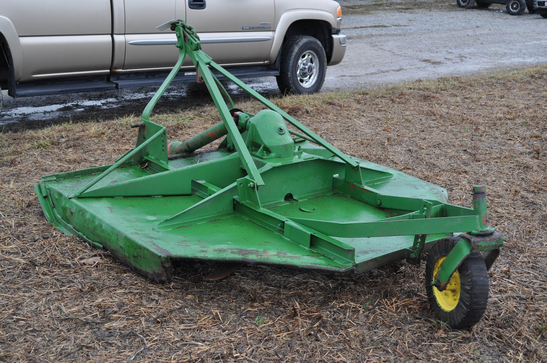 6' John Deere 3pt. rotary mower - Image 2 of 7