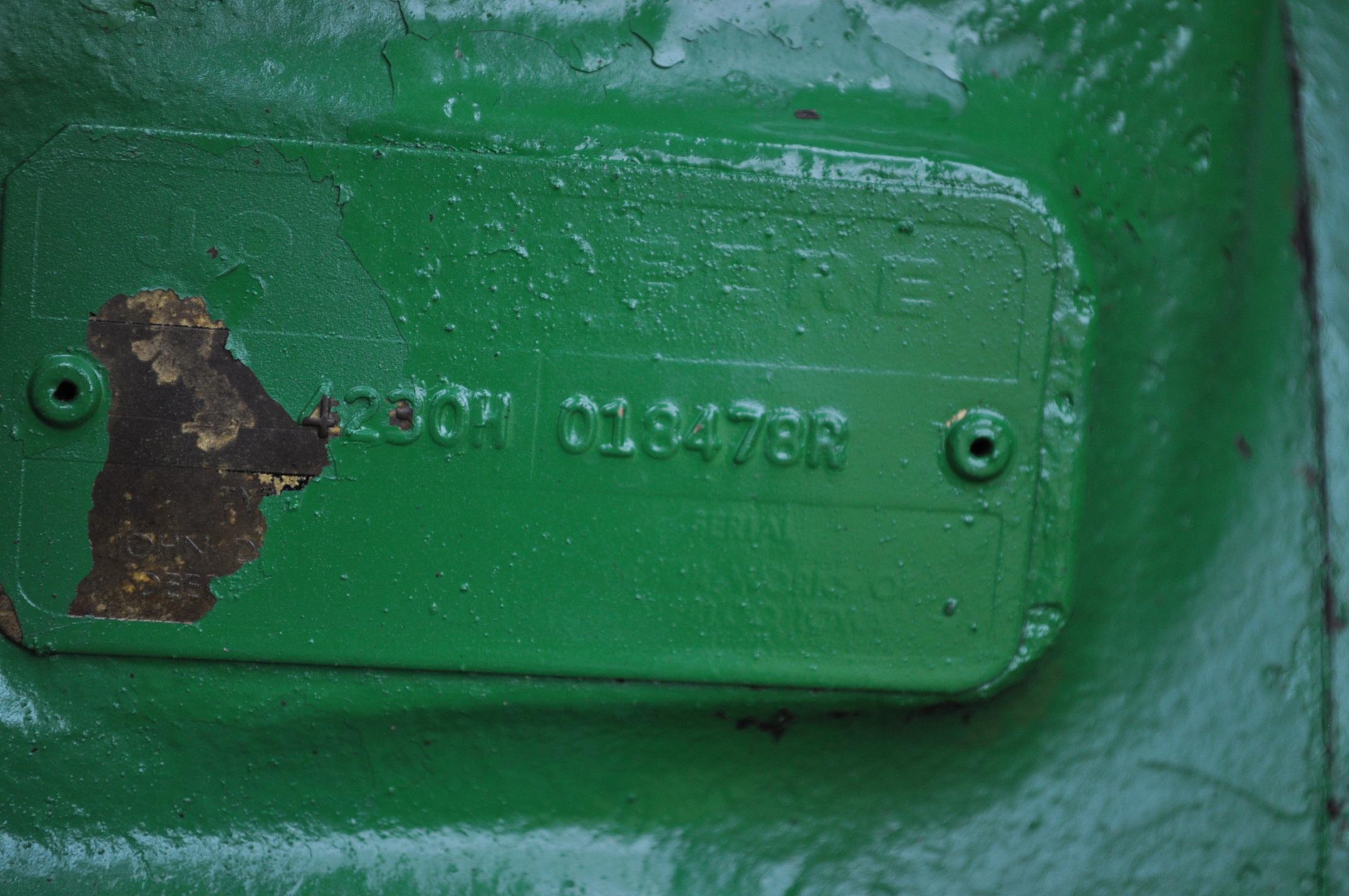 John Deere 4230 tractor, diesel, 18.4-34 hub duals, 10.00-16 front, CHA, Quad range, 2 hyd - Image 16 of 23