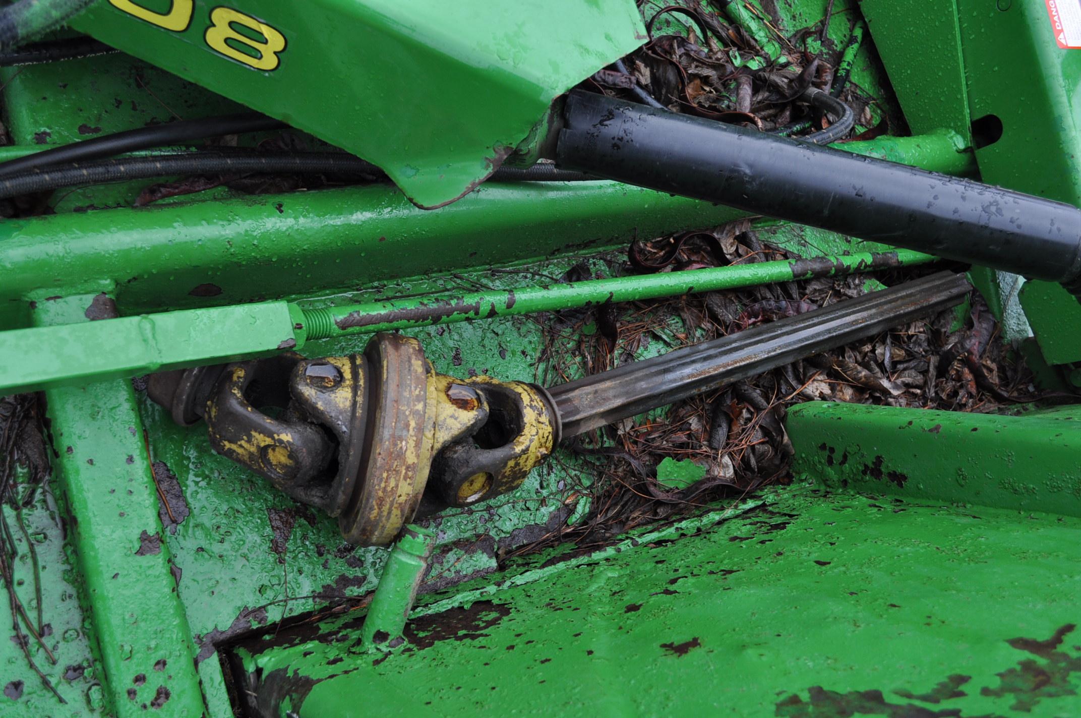 15' John Deere 1508 rotary mower, hyd fold, 1000 pto - Image 7 of 13