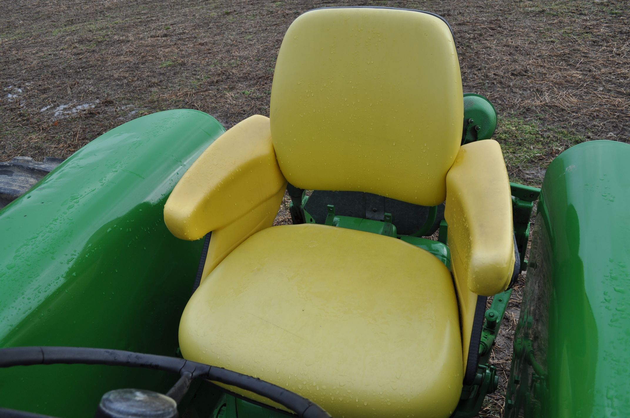 John Deere 3020 tractor, diesel, 18.4-34 rear, clamp on duals, 11L-15 narrow front, Syncro, 2 - Image 13 of 15
