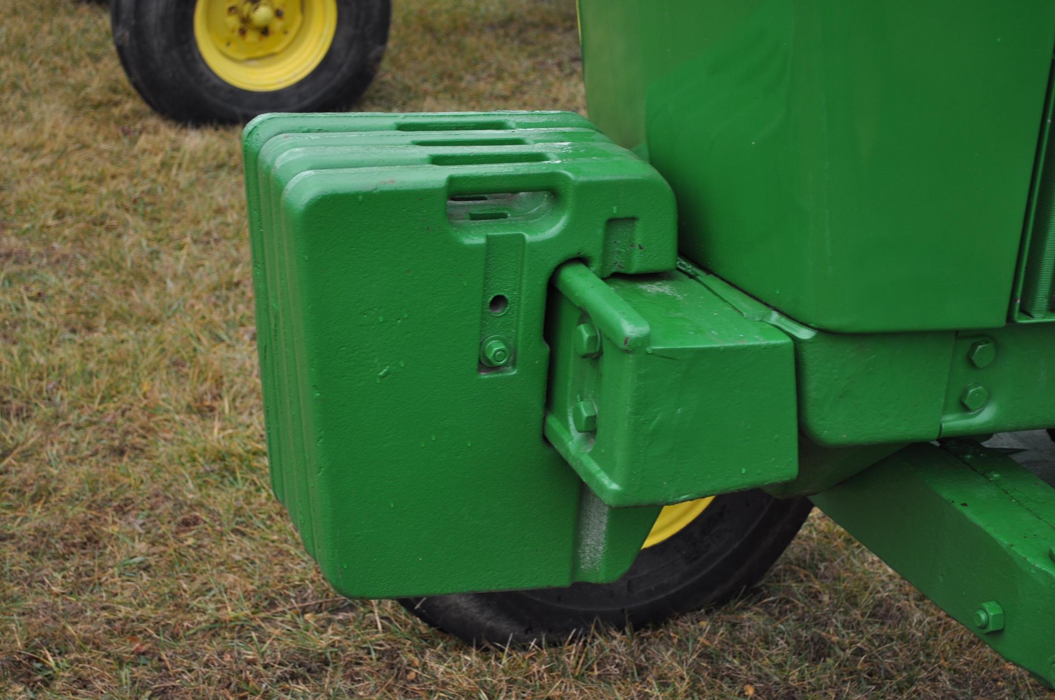 John Deere 4230 tractor, diesel, 18.4-34 hub duals, 10.00-16 front, CHA, Quad range, 2 hyd - Image 11 of 23