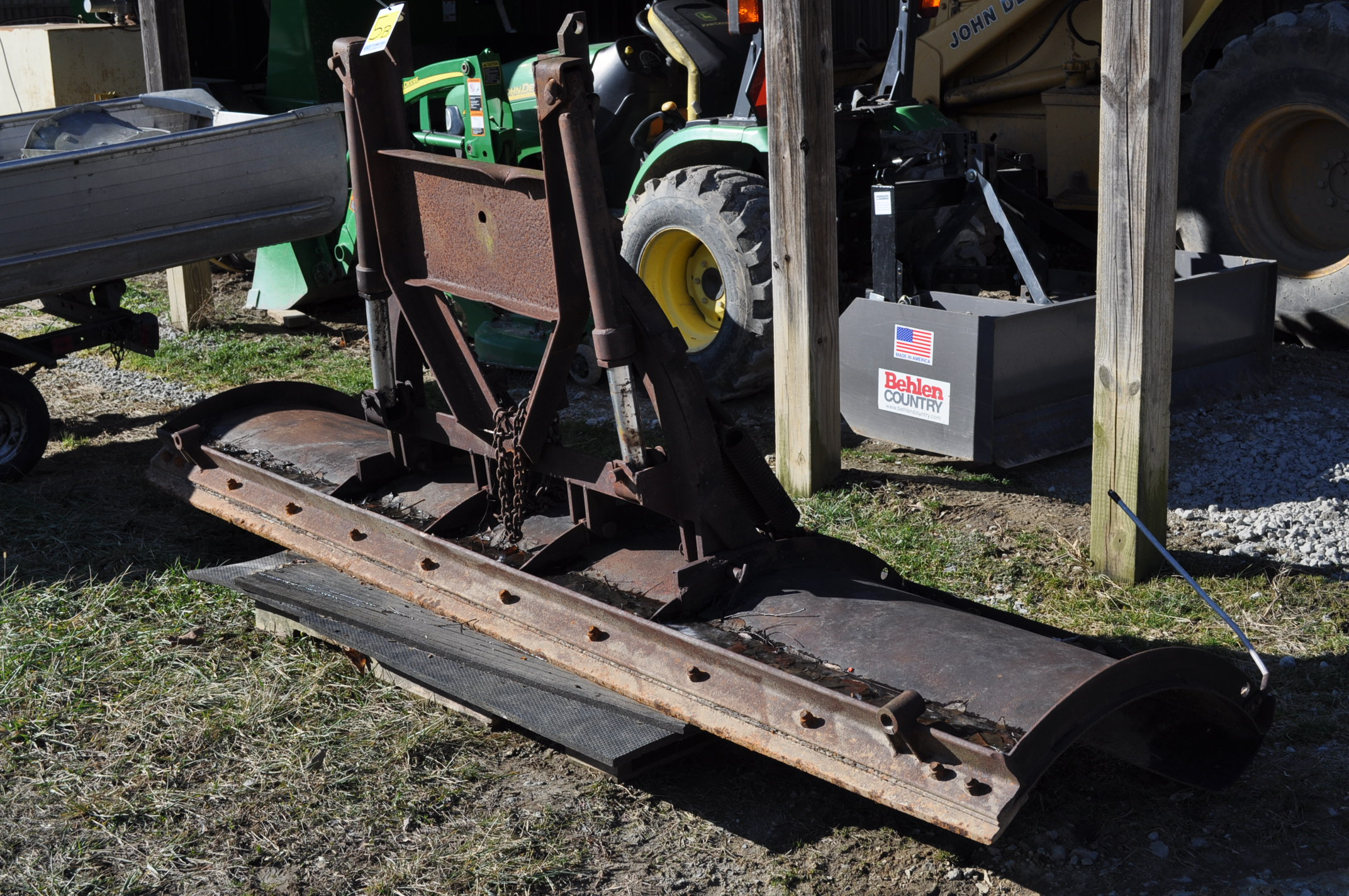 10' snow plow blade from dump truck - Image 2 of 4