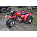 Honda Big Red 3-wheeler, new 25 x 12.00-9 tires