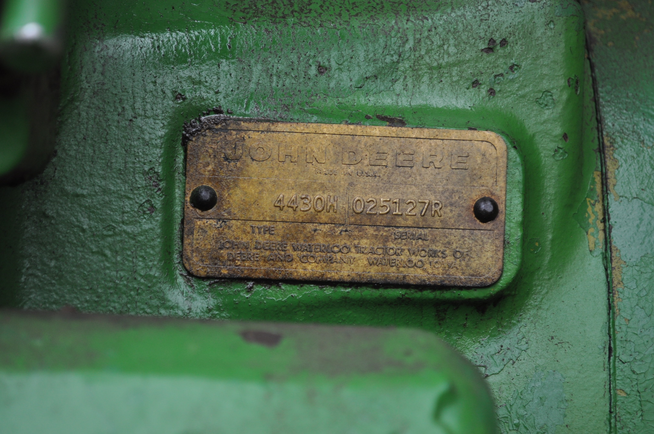 John Deere 4430 tractor, diesel, 18.4-34 hub duals, 10.00-16 front, CHA, Quad range, 2 hyd - Image 13 of 20