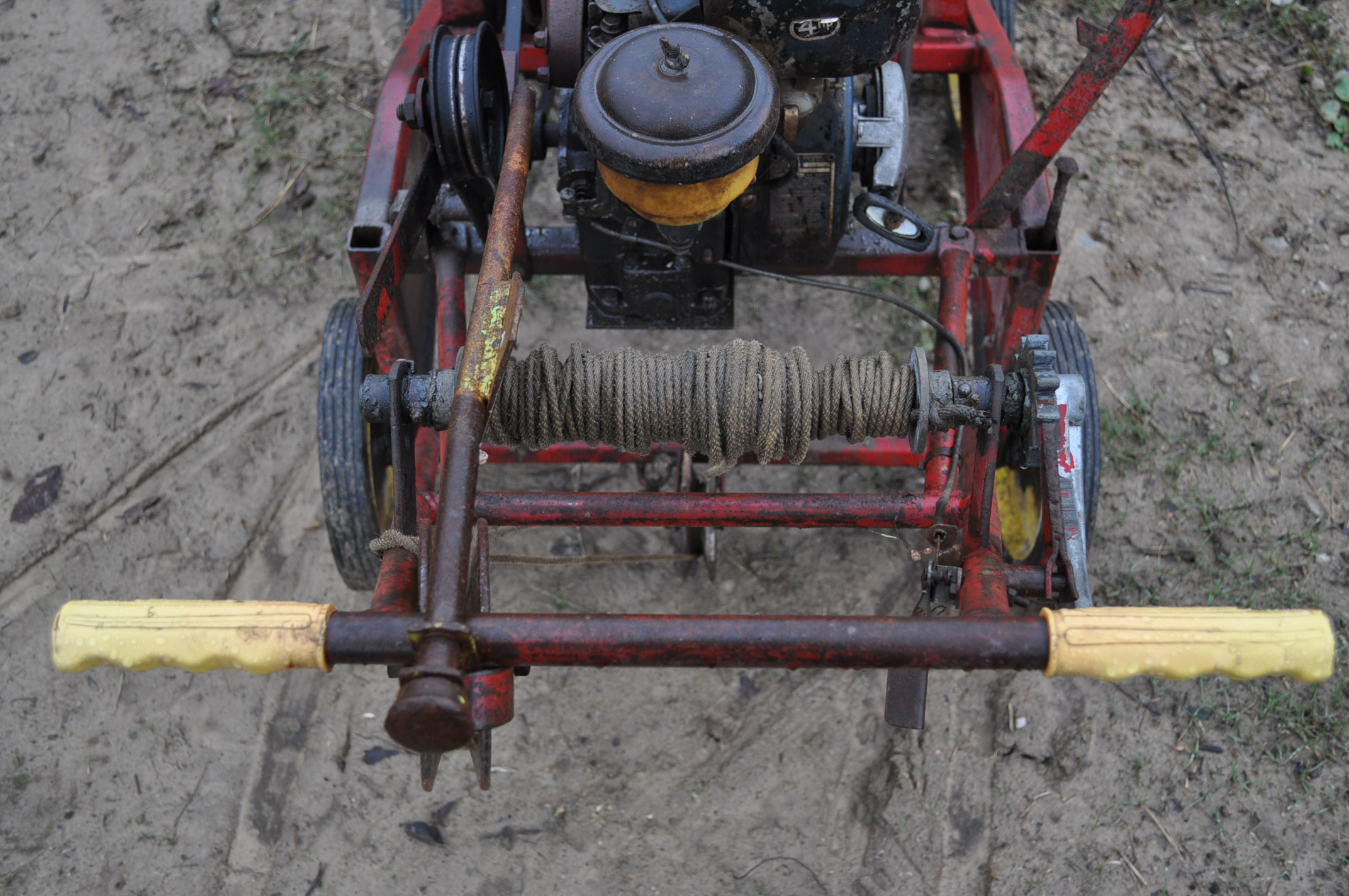 Gas powered walk-behind trencher, Kohler gas - Image 5 of 6
