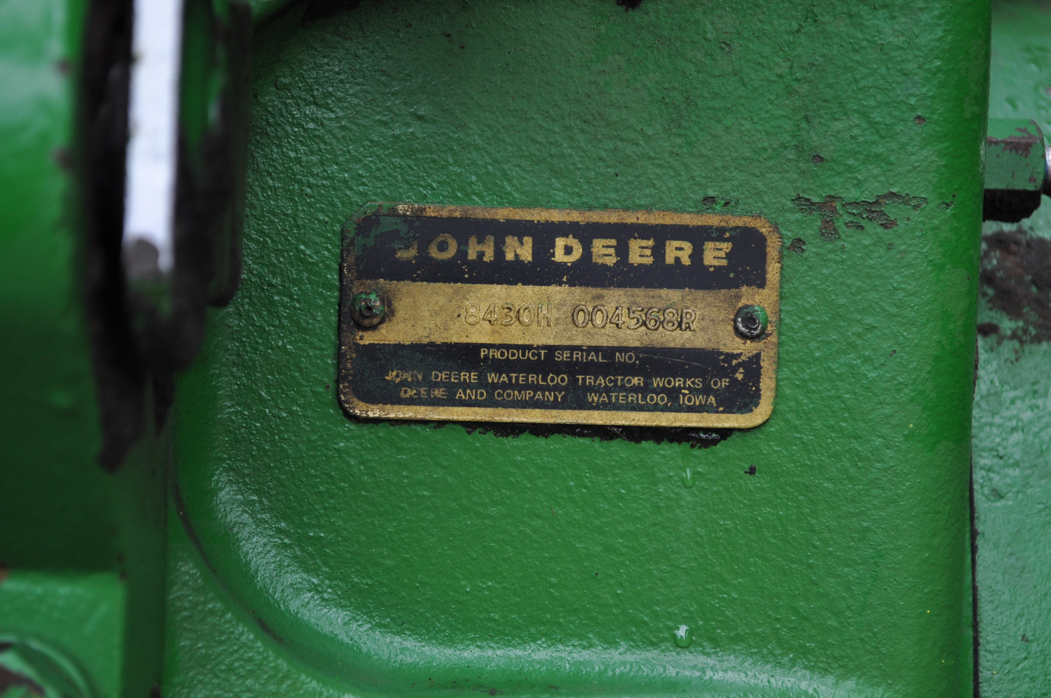 John Deere 8430 tractor, 4WD, diesel, 20.8-34 duals, CHA, Quad range, 3 hyd remotes, 1000 pto, 3 pt, - Image 13 of 19