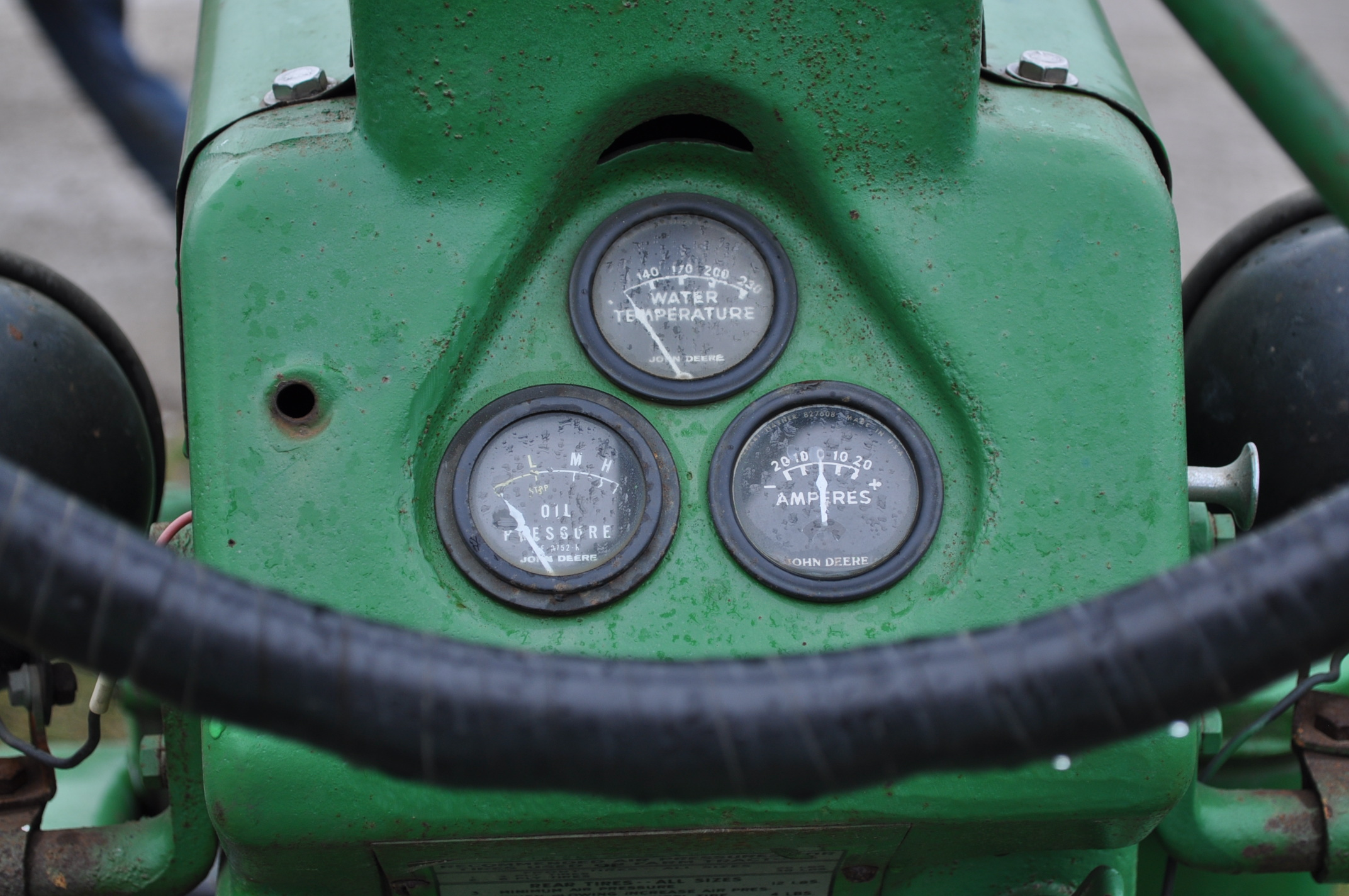 1942 John Deere Styled A, New 12.4-38 rear tires, narrow front, 540 pto - Image 12 of 15