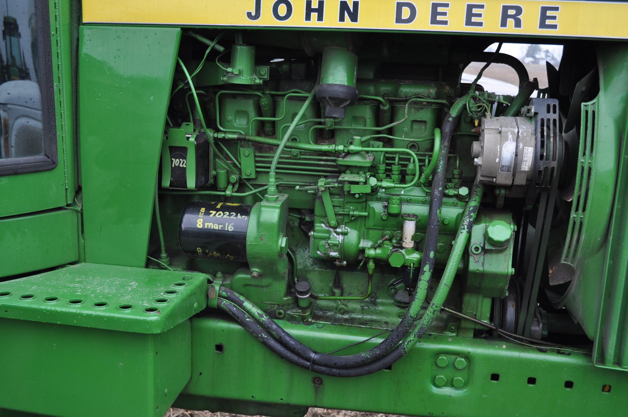 John Deere 4630 tractor, diesel, 20.8-38 hub duals, 14L-16 front, CHA, Quad range, 2 hyd remotes, - Image 9 of 22