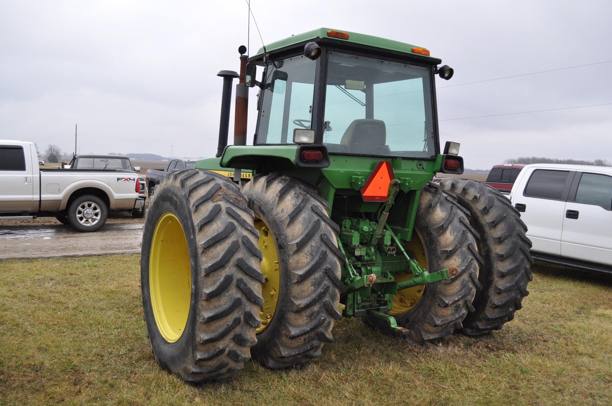 John Deere 4430 tractor, diesel, 18.4-34 hub duals, 10.00-16 front, CHA, Quad range, 2 hyd - Image 2 of 20