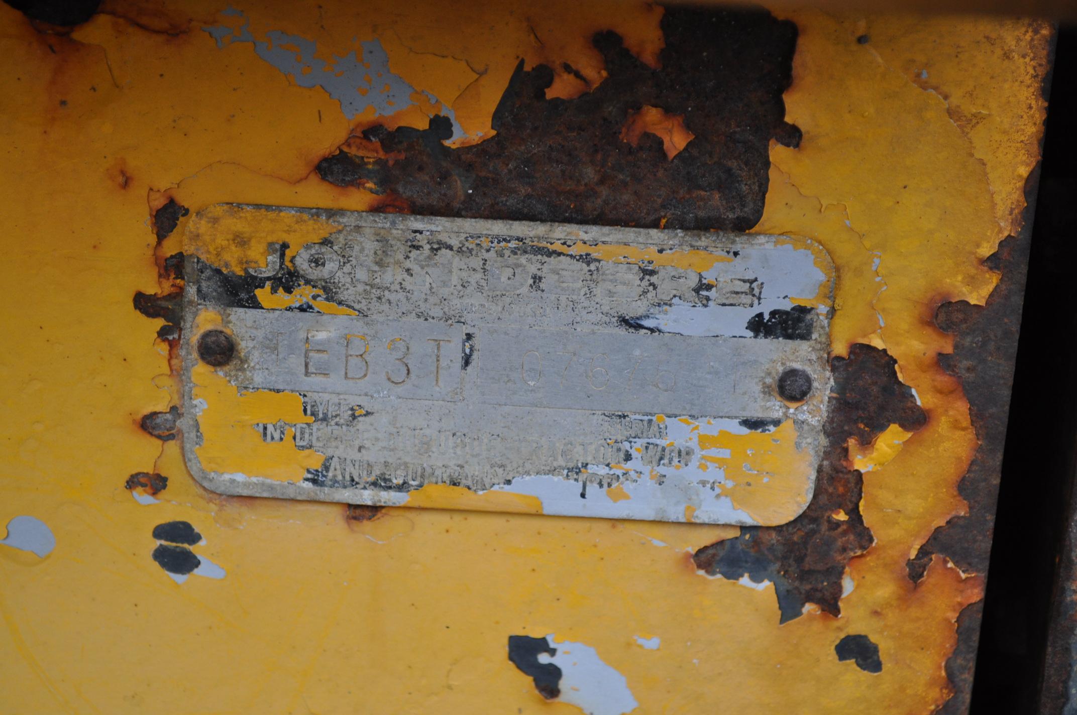 John Deere 544 Payloader, 17.5-25 tires, shows 1074 hrs, SN 0767621 - Image 10 of 16