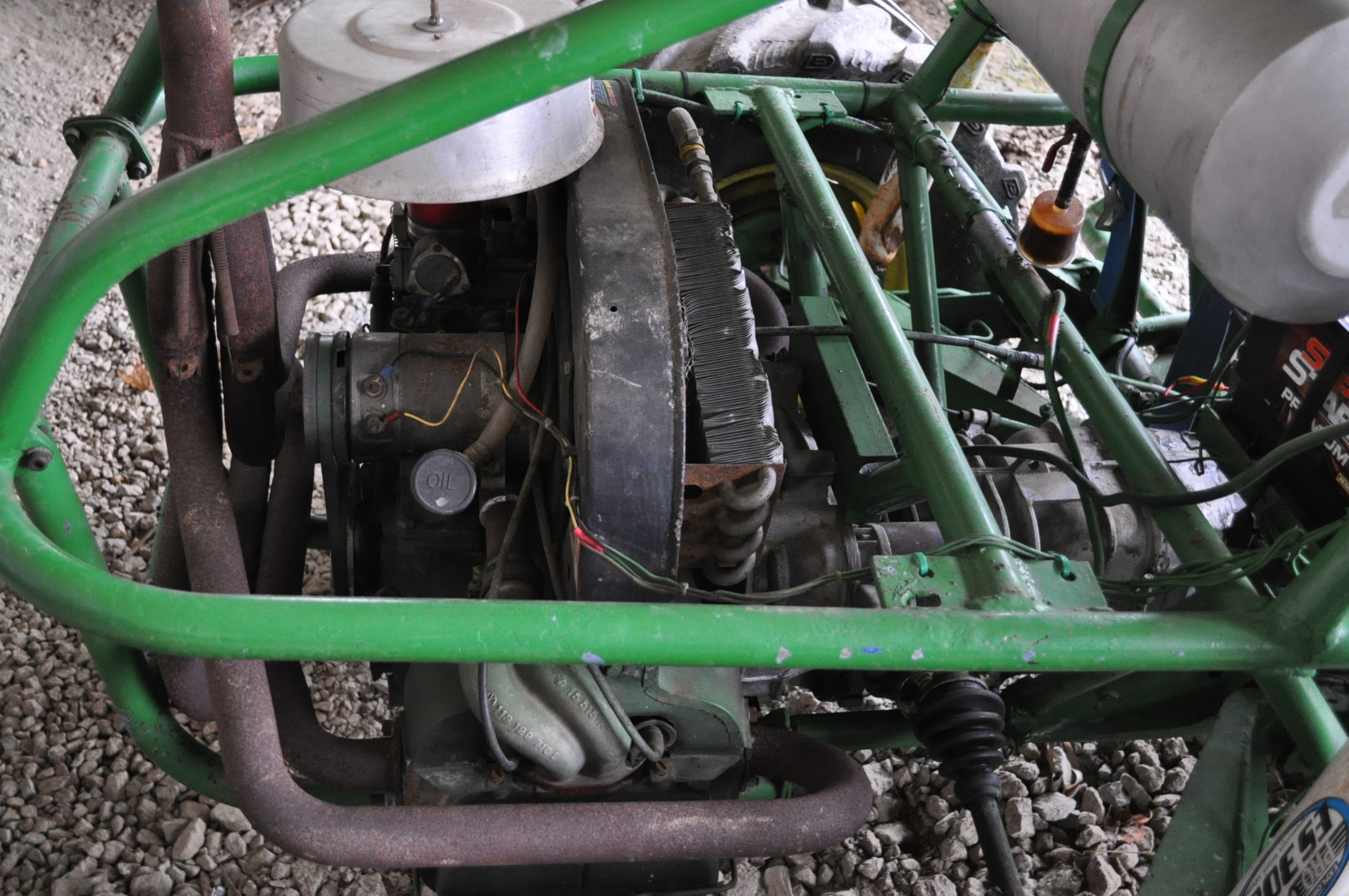 Dune buggy, VW air-cooled gas engine, 31 x 15.5-15 rear, 6.70-15LT front - Image 5 of 10