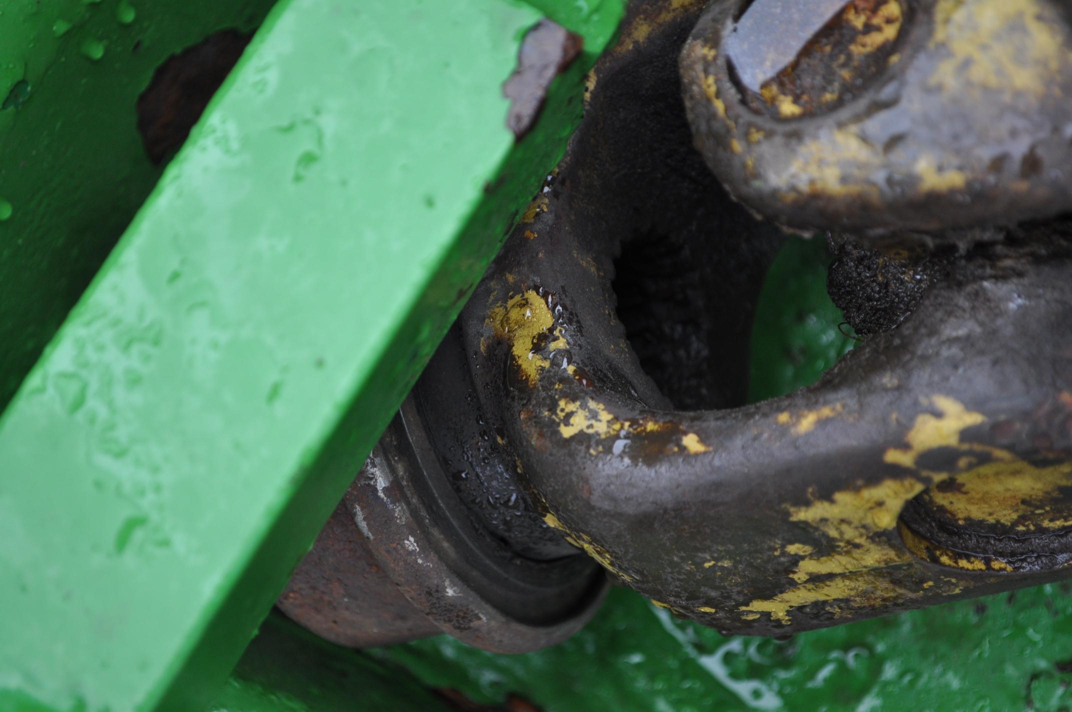 15' John Deere 1508 rotary mower, hyd fold, 1000 pto - Image 6 of 13