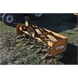 6' King Cutter driveway blade, teeth, front and rear replaceable cutting edges