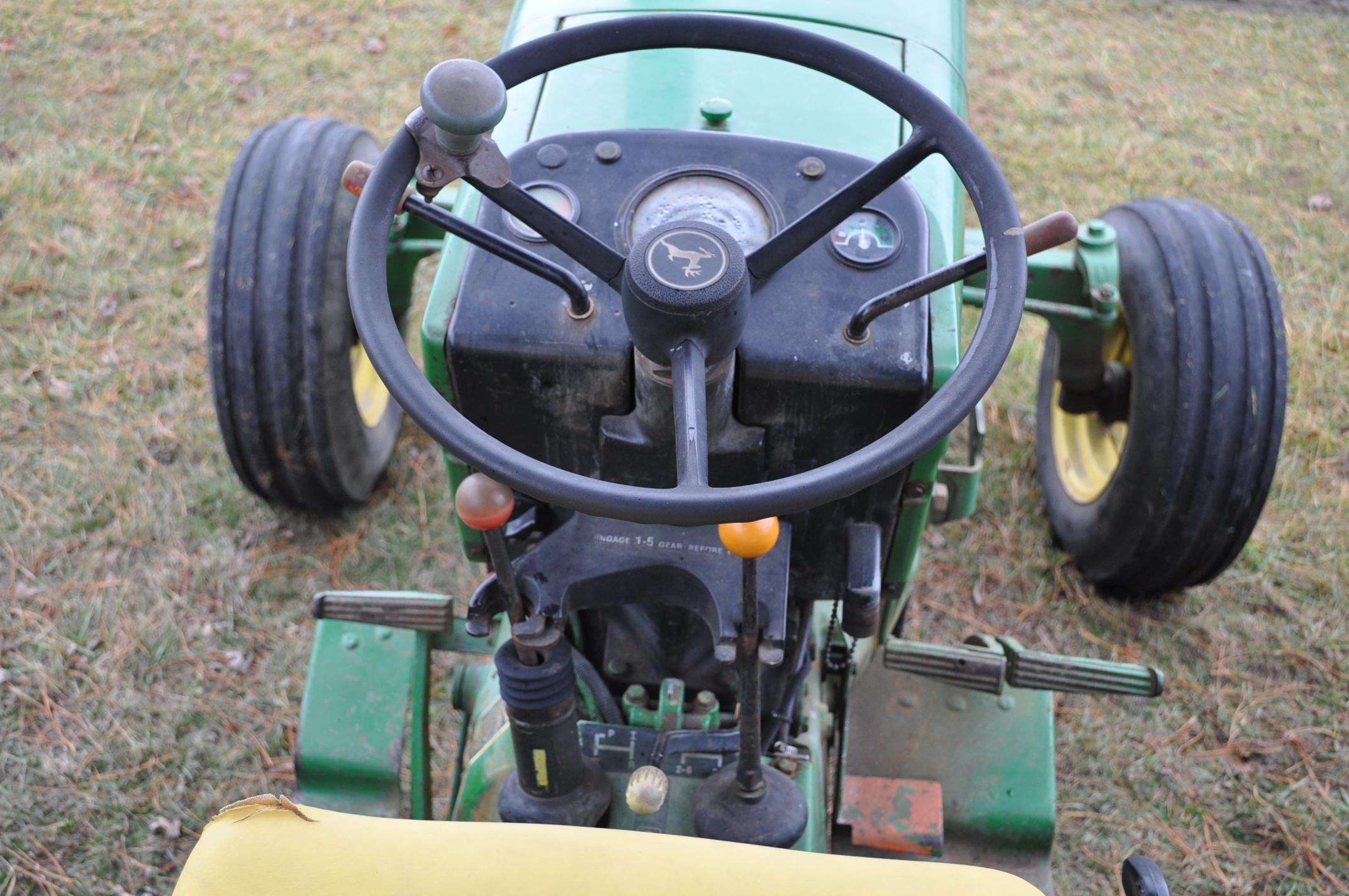 John Deere 2630 tractor, diesel, 16.9-28 rear, 9.5-15 front, 1 hyd remote, 540 pto, 3 pt, 4260 - Image 16 of 18