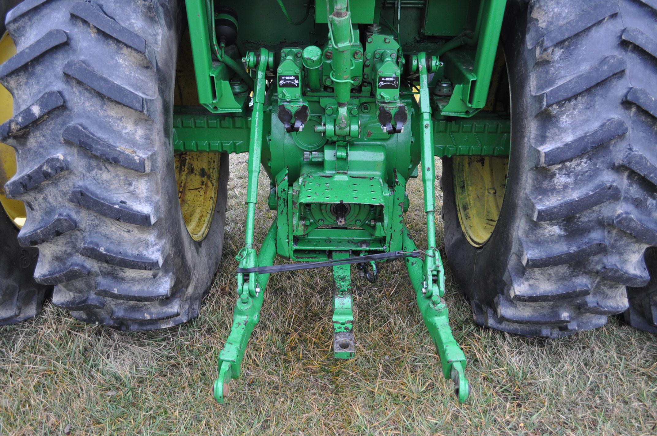 John Deere 4230 tractor, diesel, 18.4-34 hub duals, 10.00-16 front, CHA, Quad range, 2 hyd - Image 14 of 23