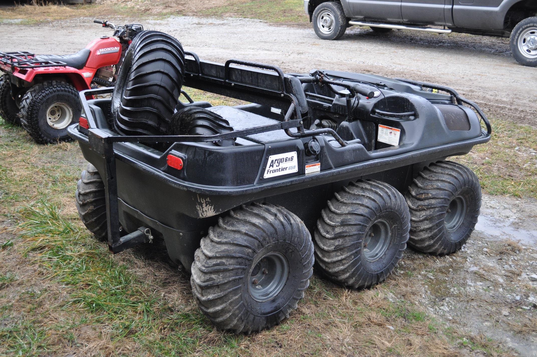 2008 Argo Frontier 650 6x6 ATV, 24 x 10.00-8 tires, 256 hrs - Image 3 of 8