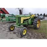 John Deere 730 tractor, diesel, 16.9-34 rear, wide front, fenders, 2 hyd remotes, 540/1000 pto, 7126