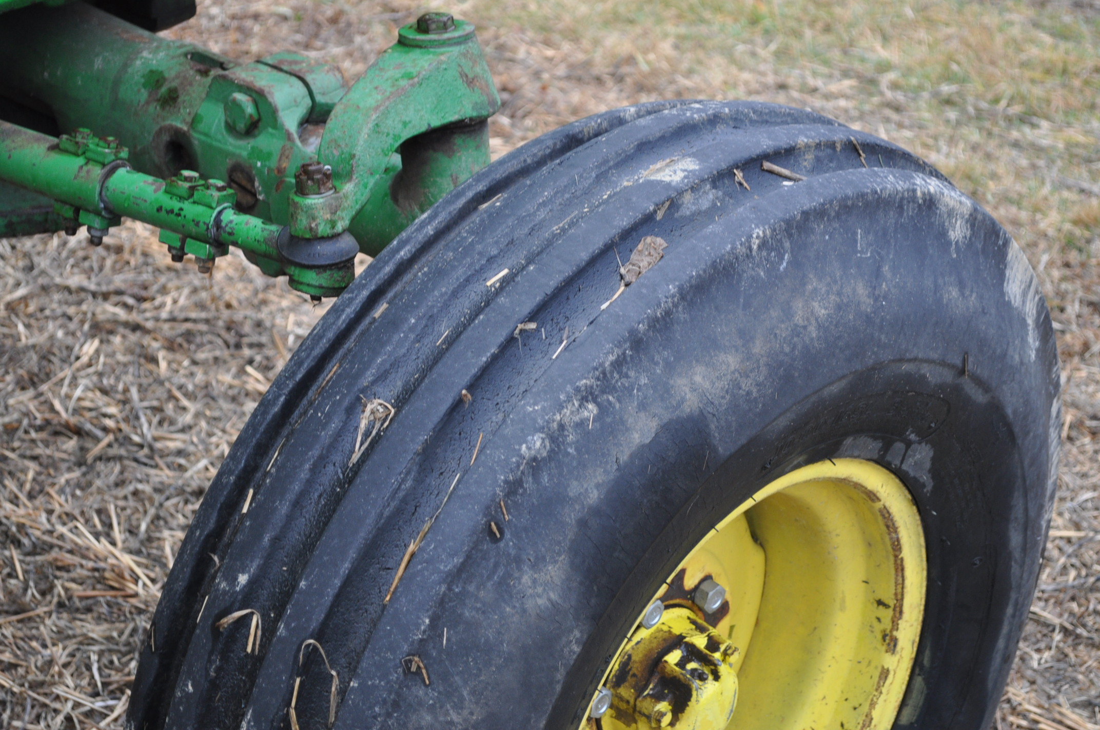 John Deere 4320 tractor, diesel, 18.4-38 duals, 10.00-16 wide front, Syncro, 2 hyd remotes, 540/1000 - Image 10 of 20