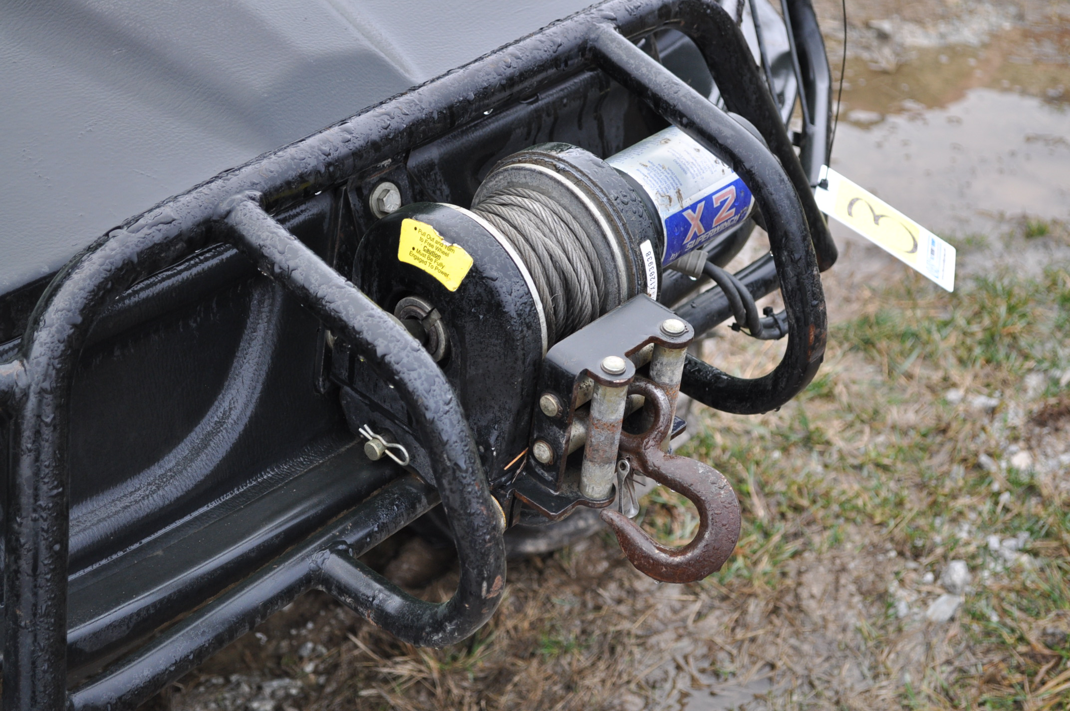 2008 Argo Frontier 650 6x6 ATV, 24 x 10.00-8 tires, 256 hrs - Image 5 of 8