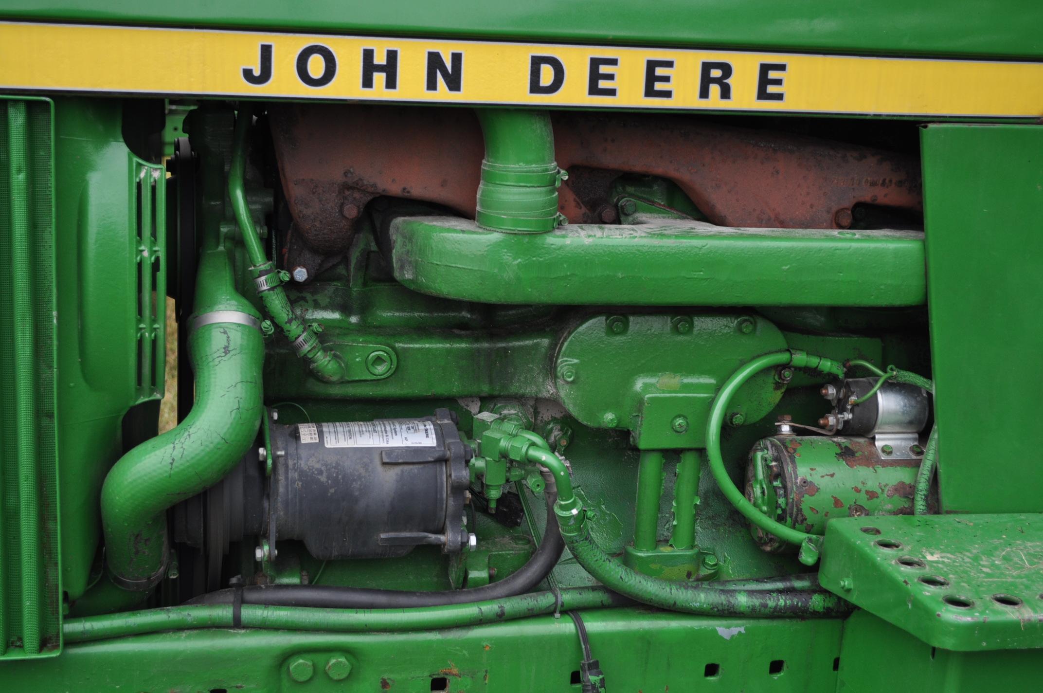 John Deere 4230 tractor, diesel, 18.4-34 hub duals, 10.00-16 front, CHA, Quad range, 2 hyd - Image 10 of 23