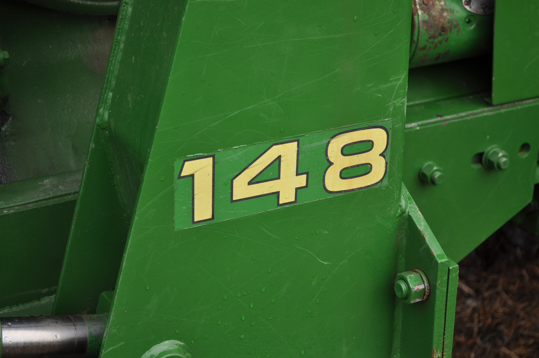 John Deere 4020 tractor, diesel, 18.4-34 tires w/ clamp on dual rims, 11L-15 front, ROPS w/ - Image 21 of 22