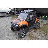 2010 Polaris Ranger RZR, 800 EFI, AT26 x 12 R 12 rear, AT26 x 9 R 12 front, half doors, 102 hrs, 899