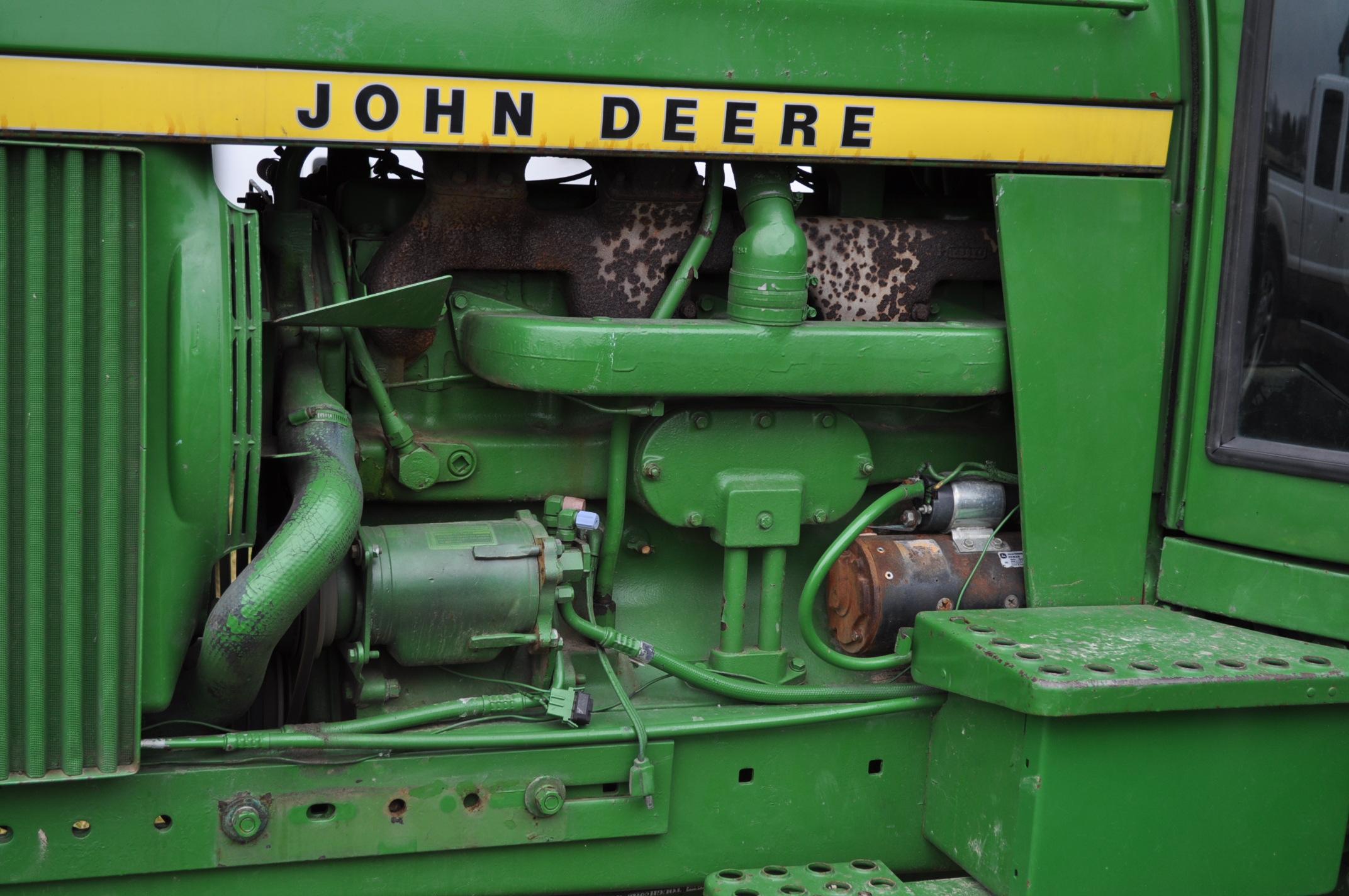 John Deere 4430 tractor, diesel, 18.4-34 hub duals, 10.00-16 front, CHA, Quad range, 2 hyd - Image 10 of 20