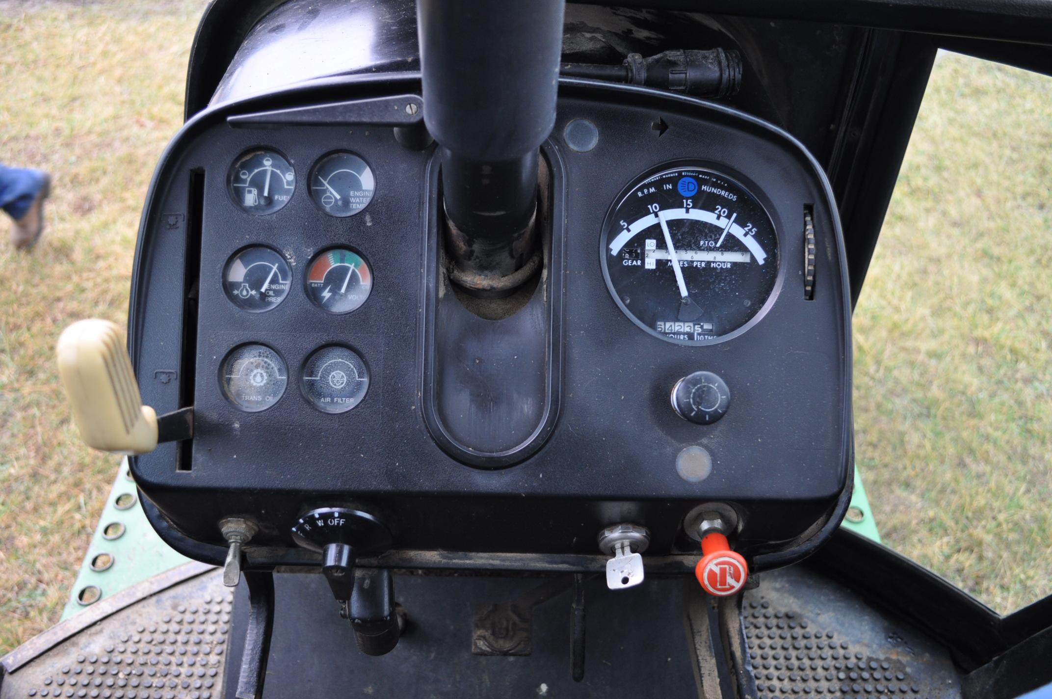 John Deere 4430 tractor, diesel, 18.4-34 hub duals, 10.00-16 front, CHA, Quad range, 2 hyd - Image 18 of 20