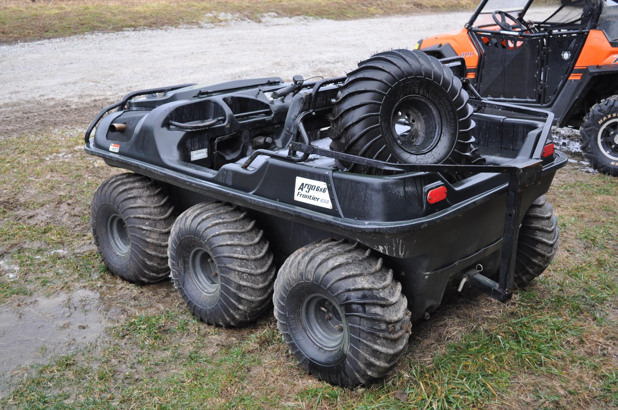 2008 Argo Frontier 650 6x6 ATV, 24 x 10.00-8 tires, 256 hrs - Image 2 of 8