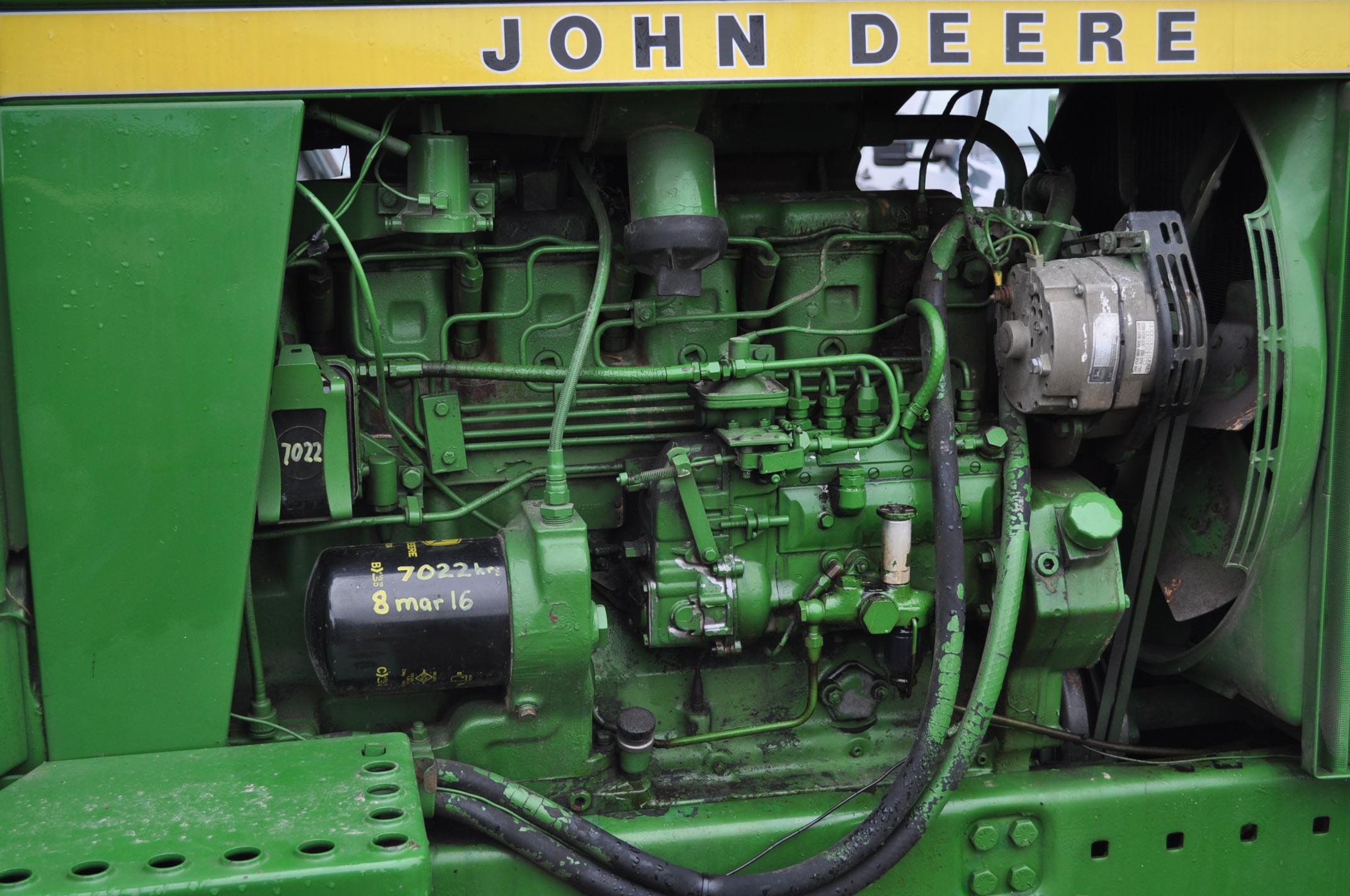 John Deere 4630 tractor, diesel, 20.8-38 hub duals, 14L-16 front, CHA, Quad range, 2 hyd remotes, - Image 14 of 22