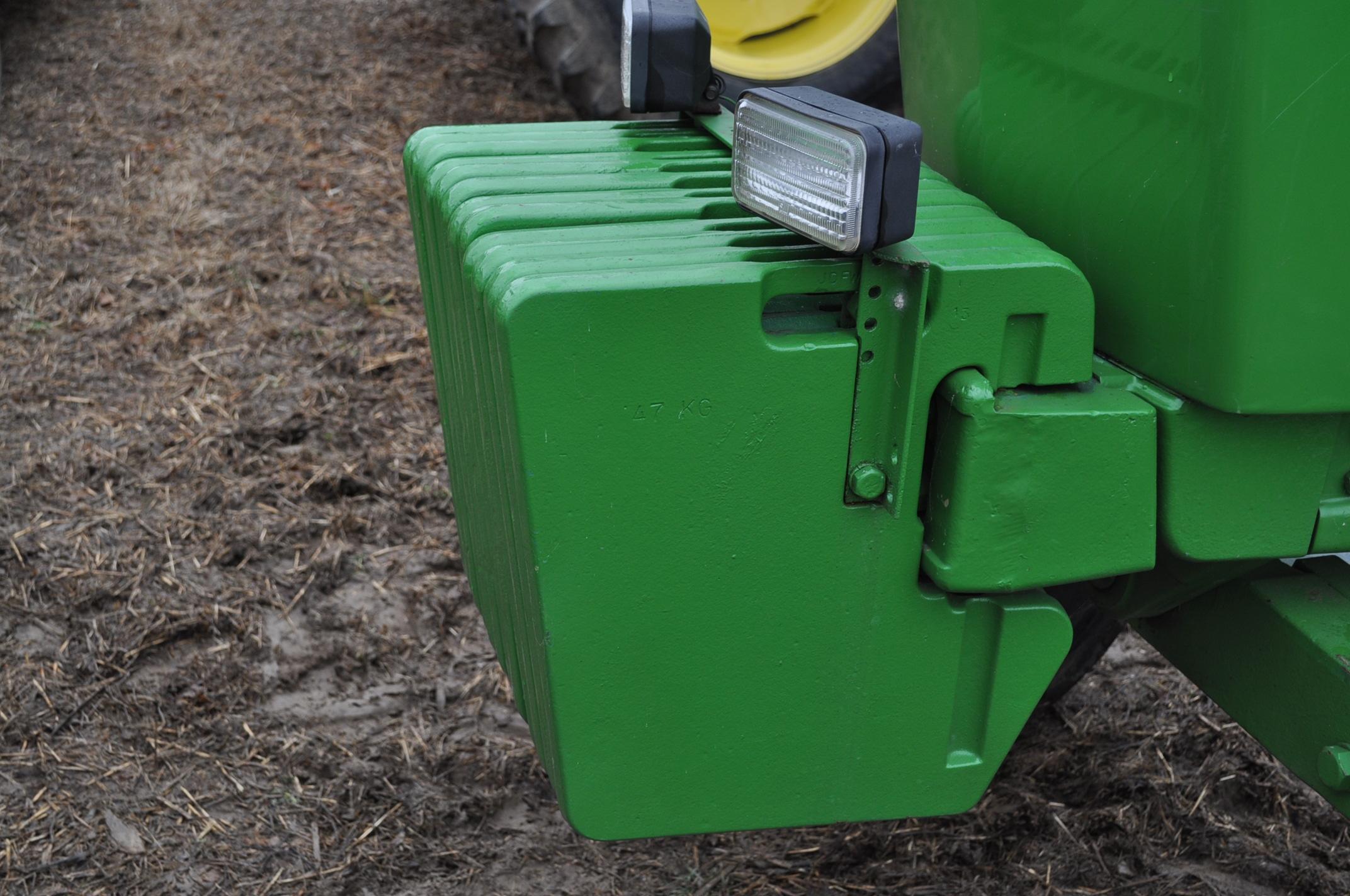 John Deere 4630 tractor, diesel, 20.8-38 hub duals, 14L-16 front, CHA, Quad range, 2 hyd remotes, - Image 15 of 22