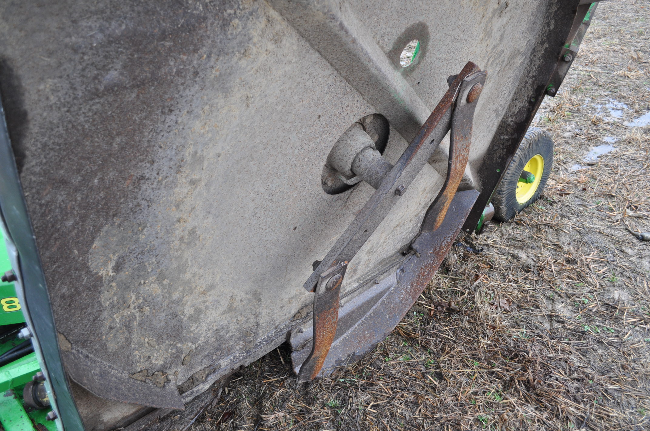 15' John Deere 1508 rotary mower, hyd fold, 1000 pto - Image 11 of 13