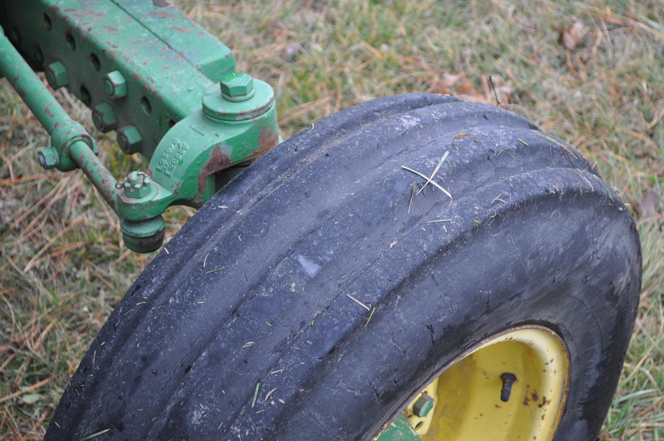 John Deere 2630 tractor, diesel, 16.9-28 rear, 9.5-15 front, 1 hyd remote, 540 pto, 3 pt, 4260 - Image 8 of 18