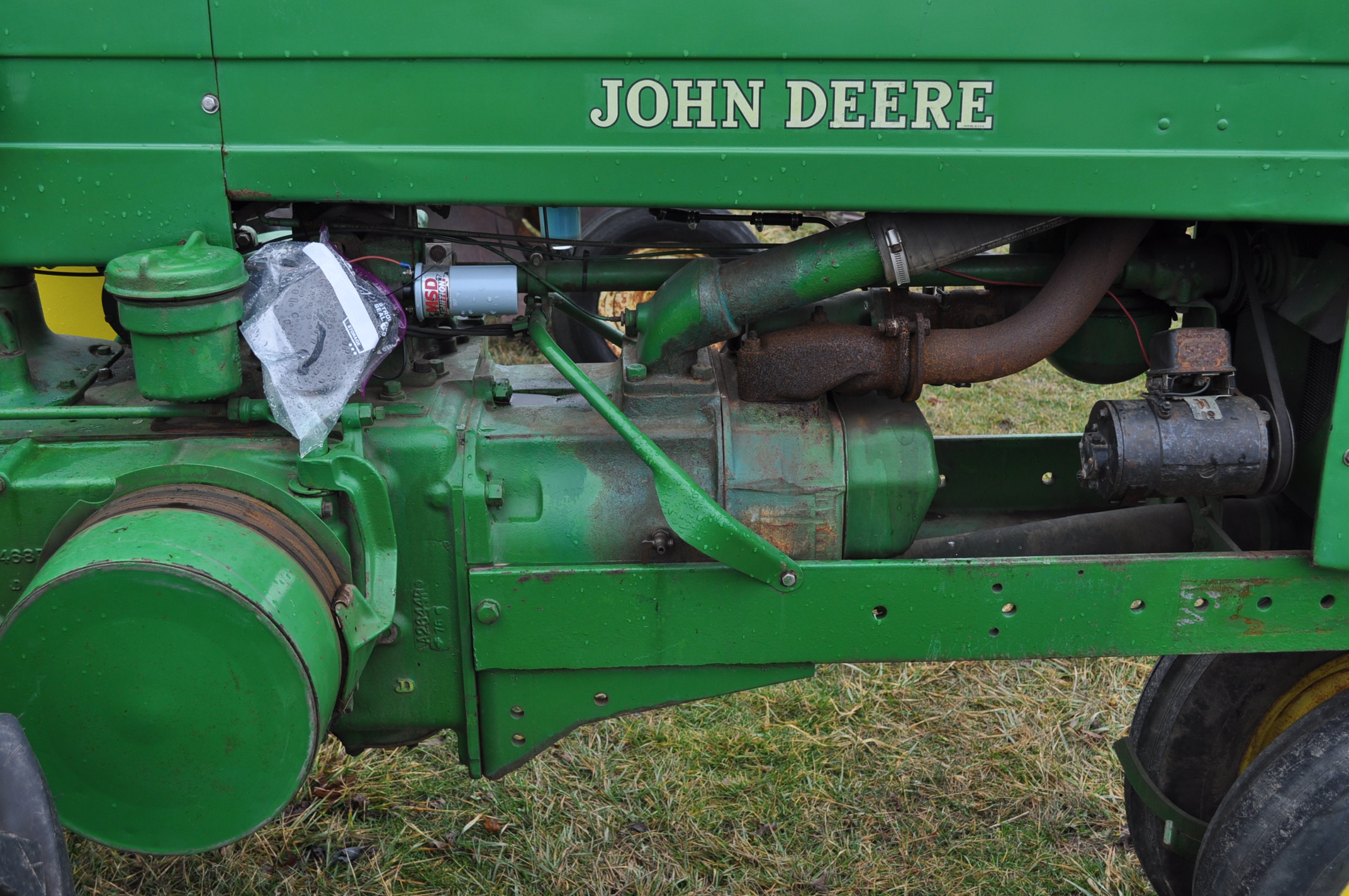 1942 John Deere Styled A, New 12.4-38 rear tires, narrow front, 540 pto - Image 8 of 15