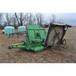 15' John Deere 1508 rotary mower, hyd fold, 1000 pto