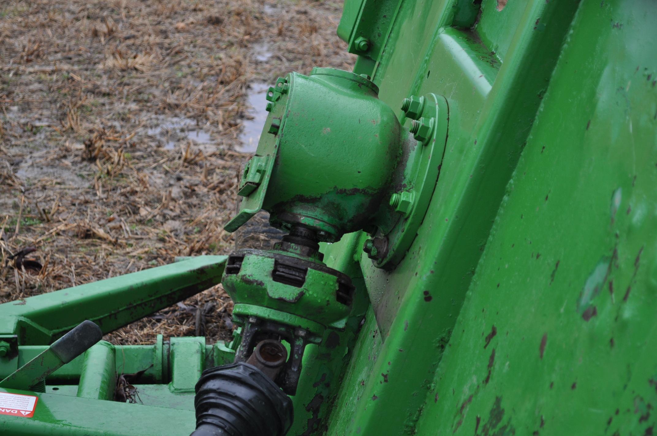 15' John Deere 1508 rotary mower, hyd fold, 1000 pto - Image 9 of 13