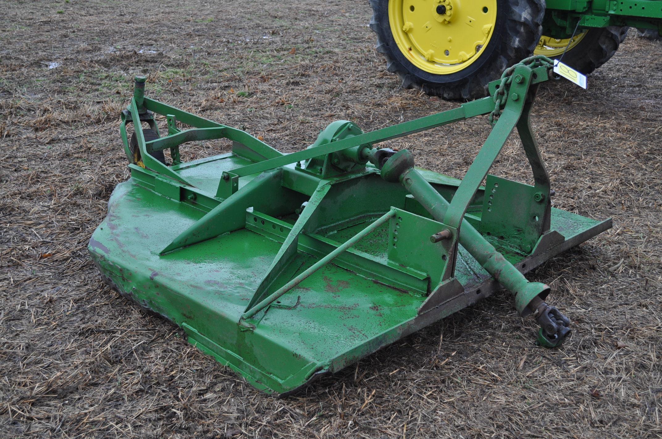 6' John Deere 3pt. rotary mower - Image 4 of 7