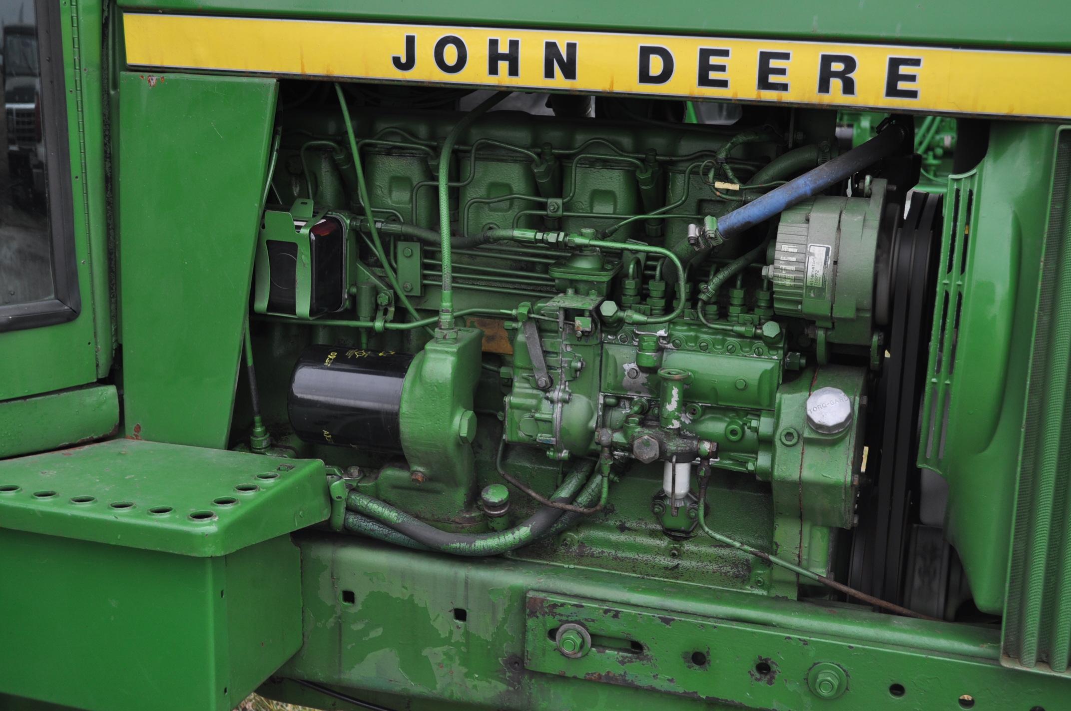 John Deere 4430 tractor, diesel, 18.4-34 hub duals, 10.00-16 front, CHA, Quad range, 2 hyd - Image 9 of 20