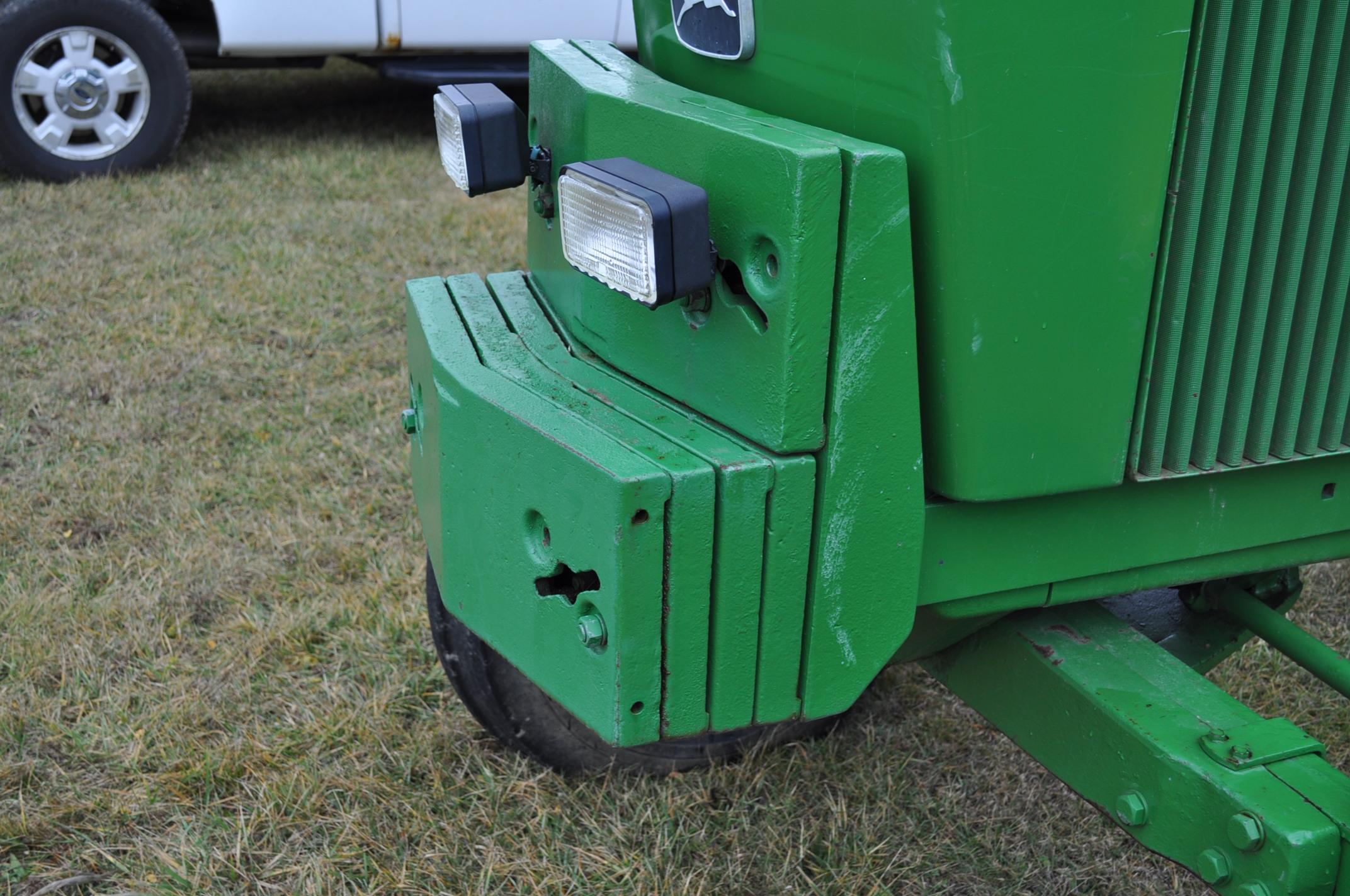 John Deere 4430 tractor, diesel, 18.4-34 hub duals, 10.00-16 front, CHA, Quad range, 2 hyd - Image 14 of 20